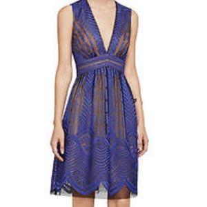 Bcbg Kellyn Black And Blue dress